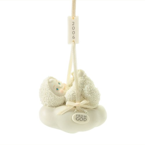 Department 56 Snowbabies Celebrations From God – 2006 Ornament