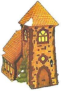 Dickens' Village Church Ornament
