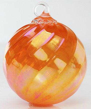 Glass Eye Studio Tangerine Twist Classic Ornament