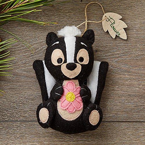Disney Flower Storybook Plush Ornament
