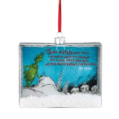 Department 56 Grinch Looking Down Ornament, 4″