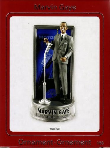 Motown Marvin Gaye 2009 Carlton Ornament
