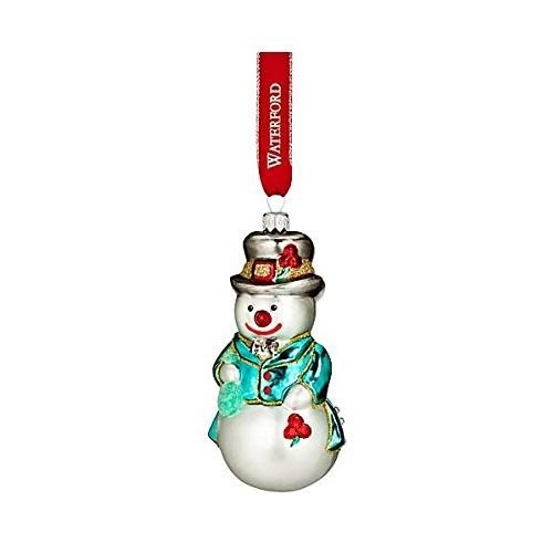 Waterford Holiday Heirloom 2016 Brights Snowman Seth Ornament