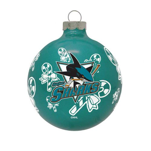 NHL San Jose Sharks Traditional 2 5/8″ Ornament