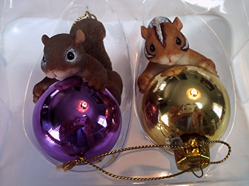 Charming Tails Chauncey & Sebastian Decorate Ornaments