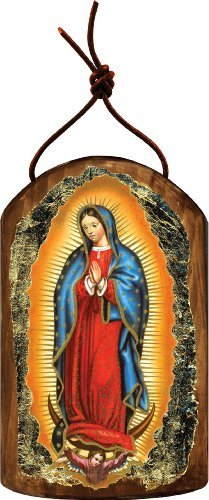 G. Debrekht Lady of Guadalupe Icon Wooden Ornament