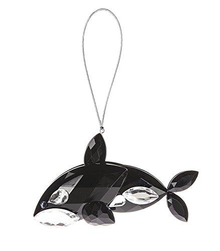 Ganz Crystal Expressions Acrylic Sea Life 4.5″ Orca Ornament ACRY-312