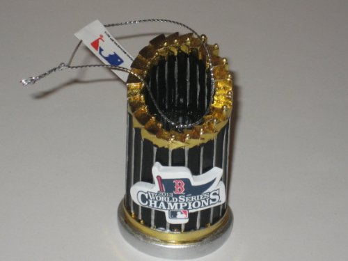 Red Sox World Series xmas Trophy ornament official mlb