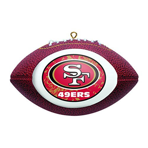 NFL San Francisco 49ers Replica Football Ornament