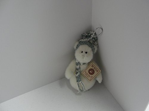 Snowee Boyds Bears Plush Snowman Ornament #562930