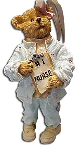 Boyds Bearstones Ornament Nurse Karen #1 Nurse Ornament