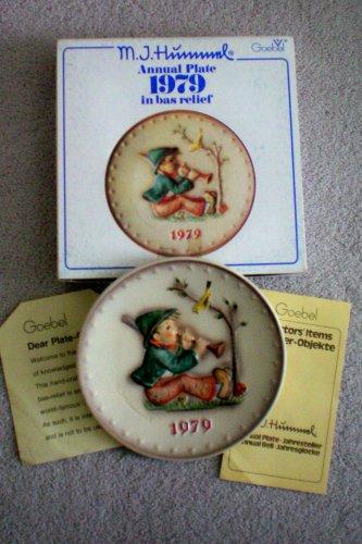 HTF–1979 Goebel Hummel Annual Plate in Original Box — Mint Condition!!!