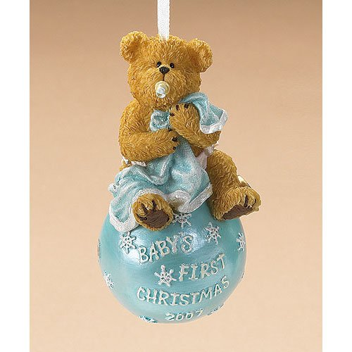 Baby's First Christmas 2007, Boyds Bears Ornament 257427
