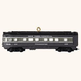 LIONEL® New York Central Observation Car 2008 Hallmark Keepsake Ornament