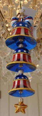 "Christopher Radko ""Freedom Rings Forever"" Decorative Ornament #02-0606-0"