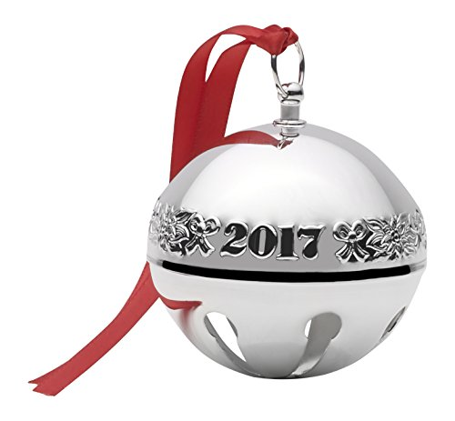 Wallace 2017 Sterling Silver Sleigh Bell Ornament, 23rd Edition