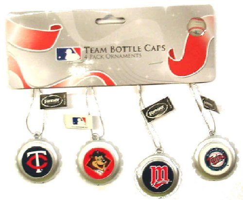 Minnesota Twins Bottle Cap Christmas/Holiday Ornament
