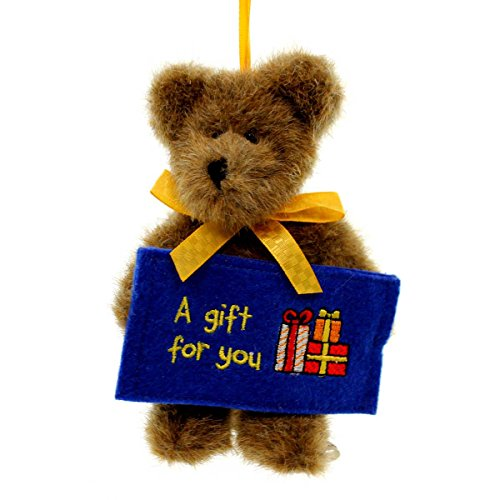Boyds Bears Plush BEAR GIFT FOR YOU 738081 Ornament Christmas