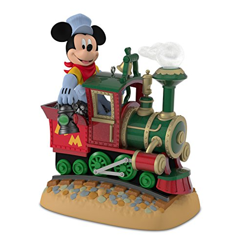 Hallmark 3995QHG1701 Disney Days Mickey's Magical Railroad Repaint Keepsake Christmas Ornament