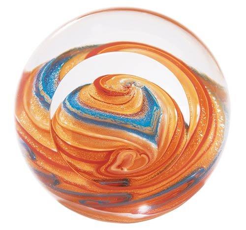 Glass Eye Studio Jupiter Blown Glass Paperweight