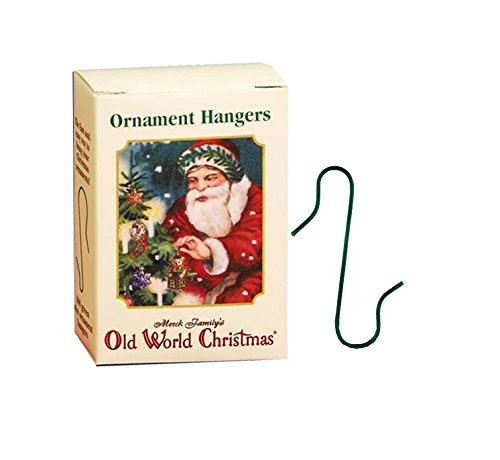 Old World Christmas – Ornament Hangers – 100 Count – Metal, Pre-bent – For Fake and Real Trees