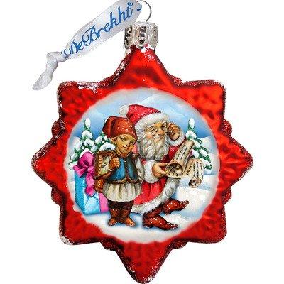 G. Debrekht Christmas Tale Glass Ornament