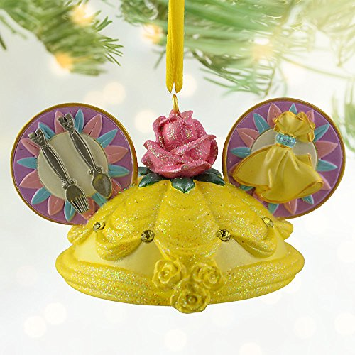 Disney Belle Ear Hat Ornament
