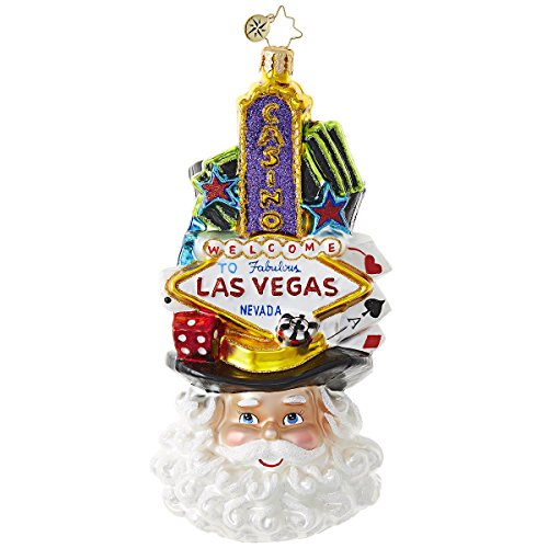 Christopher Radko Viva Las, Vegas! Destinations Christmas Ornament