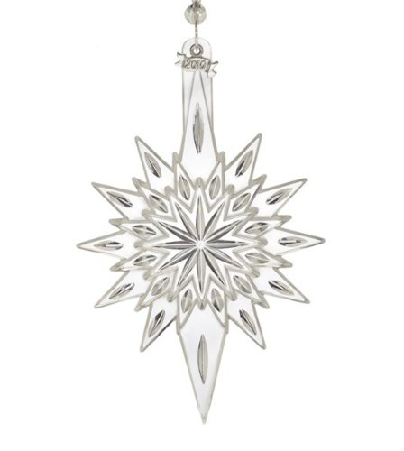 Waterford Crystal Annual 2010 Ornament Snowstar