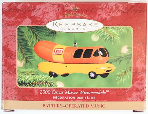Hallmark Keepsake Ornament 2001 Oscar Mayer Wienermobile