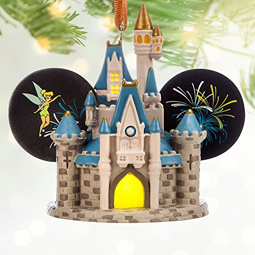 Disney Cinderella Castle Light-Up Ear Hat Ornament – Walt Disney World