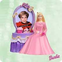 2003 Hallmark Ornament Barbie Special Memories Photo Holder
