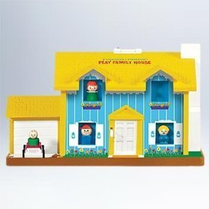 2011 Play Family House Fisher Price Hallmark Ornament