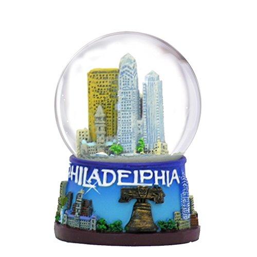 Philadelphia Snow Globe – 45MM, Philadelphia Snow Globes, Philadelphia Souvenirs, Philadelphia Gifts