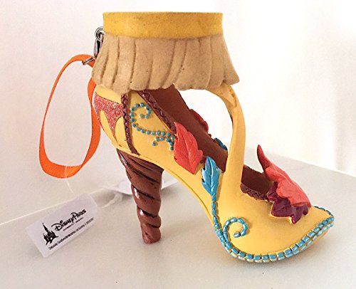Disney Parks Pocahontas Shoe Figurine Ornament NEW Casey Jones