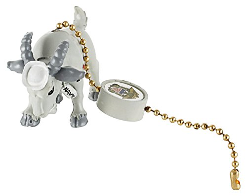 Military Mascot – Navy Goat – Military Fan or Lamp Pull, Military Figurine, Military Decor, Military Souvenir, Military Gift and Accessory.
