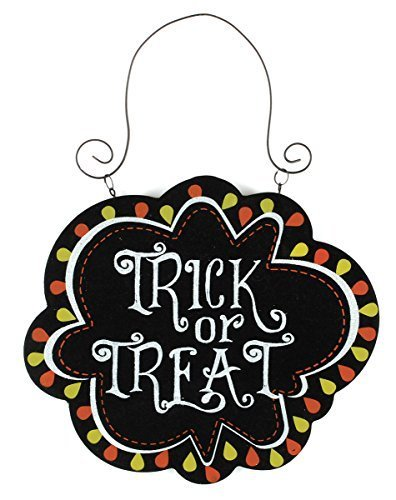 Blossom Bucket Trick or Treat Ornament Christmas Decor, 7 High by Blossom Bucket