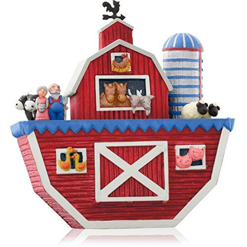 Hallmark QGO1316 Noah's Ark – 2014 Christmas Keepsake Ornament