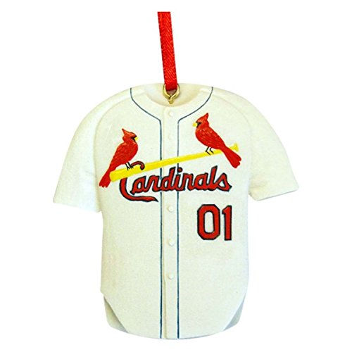 Kurt Adler Resin St. Louis Cardinals Jersey Ornament