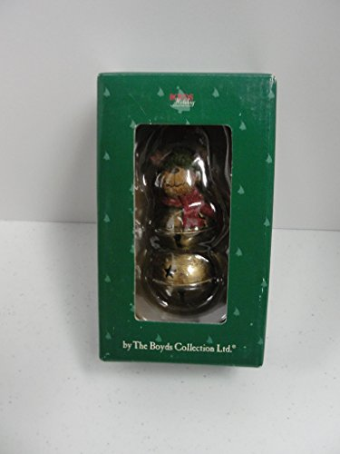Boyds Bears Moose Hanging Bell Ornament #257442