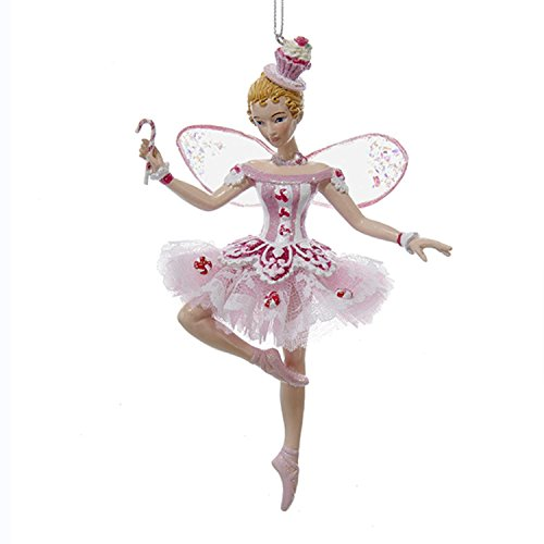 6″ Pink Sugar Plum Fairy Dancing Ballerina Hanging Christmas Ornament