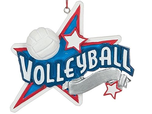 Volleyball Star Sports Christmas Tree Ornament