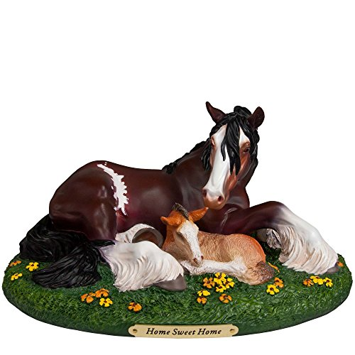 Trail of Painted Ponies Home Sweet Home Clydesdale Horse Figurine 4055519 New