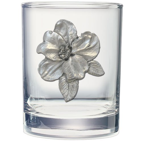 APPLE BLOSSOM 14 OZ DOUBLE OLD FASHIONED GLASS