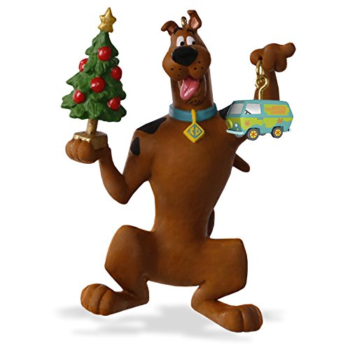 "Hallmark Keepsake Scooby-Doo ""Decking the Christmas Tree"" Holiday Ornament"