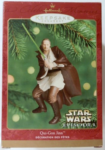 Hallmark Keepsake Ornaments- Qui-gon Jinn by Star Wars
