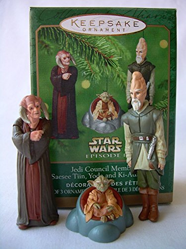 Hallmark Keepsake Ornament – Jedi Council Members 2000 (QXI6744)