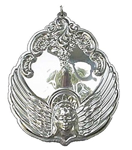 2001 Wallace Grande Baroque Angel Sterling Christmas Ornament 1st Edition