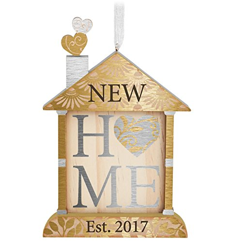 Hallmark 1795QHX1082 New Home Keepsake Christmas Ornaments