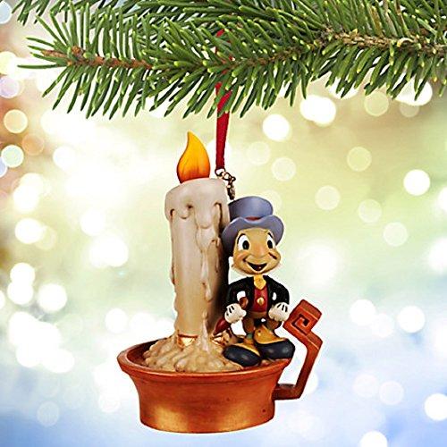 Disney Jiminy Cricket Light Up Sketchbook Ornament